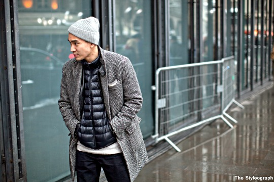 puffer-vest-under-coat-men-street-style-photo