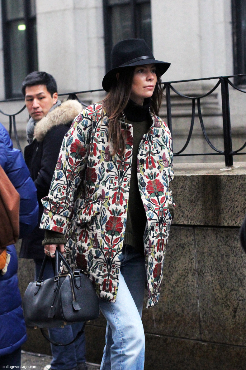 New_York_Fashion_Week_Fall_2013-Street_Style-Floral_Coat