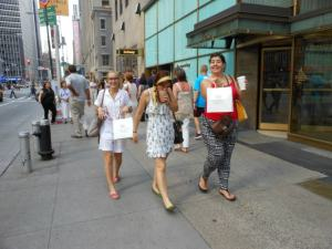 Walking down 5th avenue!